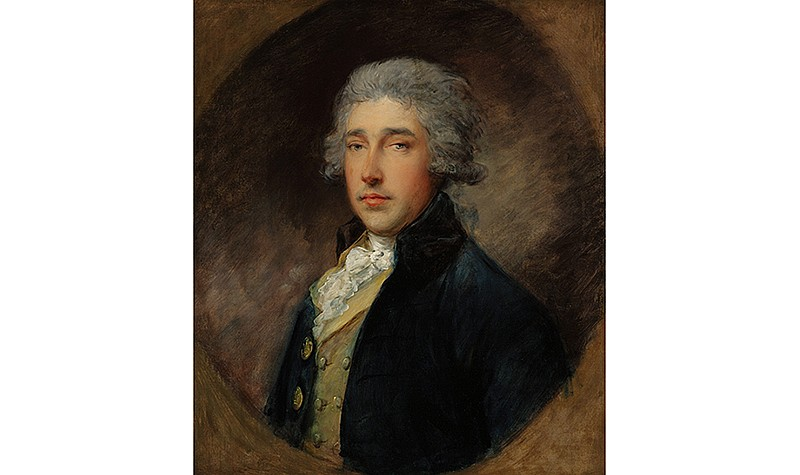 Thomas Gainsborough (English, 1727-1788), Portrait of Sir Richard Brinsley Sheridan, c. 1785. Oil on canvas. Frick Art & Historical Center, Pittsburgh, 1984.25.