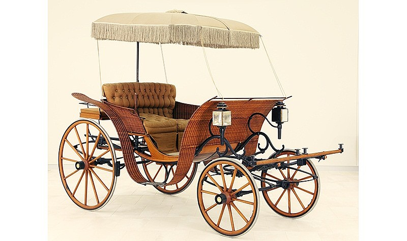1903 Brewster & Co. Basket Phaeton carriage