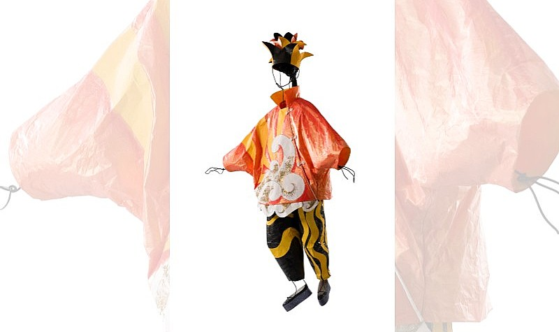 Prestidigitateur Chinois (Chinese Conjurer), 2009, Costume designed by Pablo Picasso for Parade in 1917