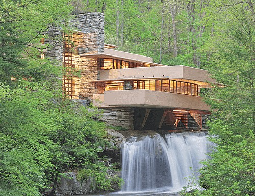 Frida, Fallingwater, and the Blue House