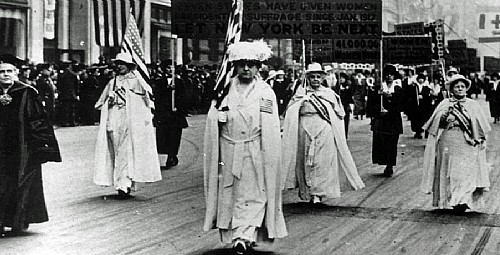 Notable Women of the Suffrage Movement | Carrie Chapman Catt