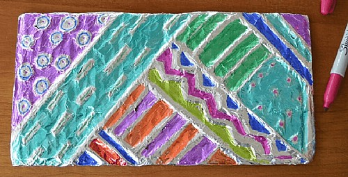 Make Art Together: Fun with Foil