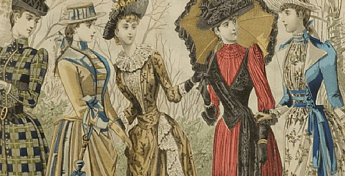 Trends through the Decades: Spring Fashion, 1880–1910