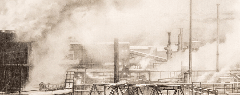Shapes from Fog: <i>Clairton, From the Hill</i> by Craig McPherson, a Recent Acquisition