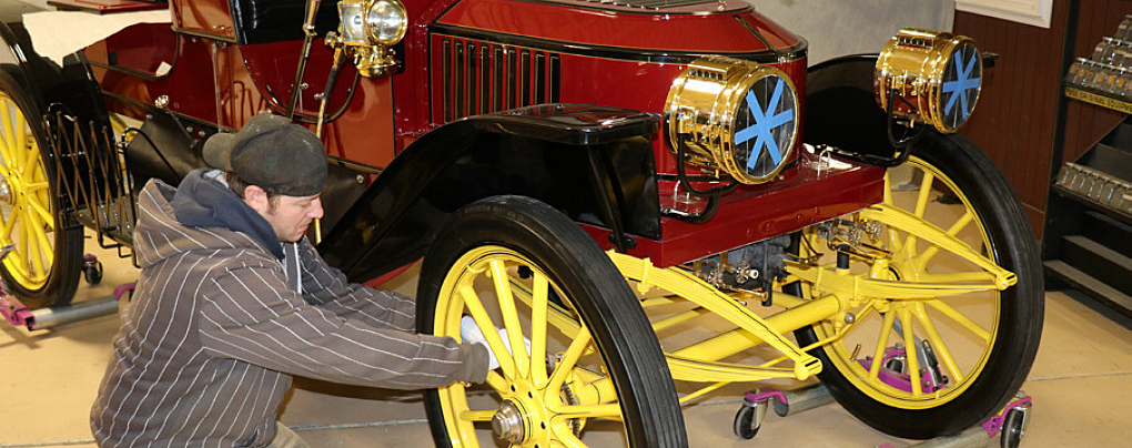 Preservation, Conservation, and Restoration (Yes, They're Different!) at the Car and Carriage Museum