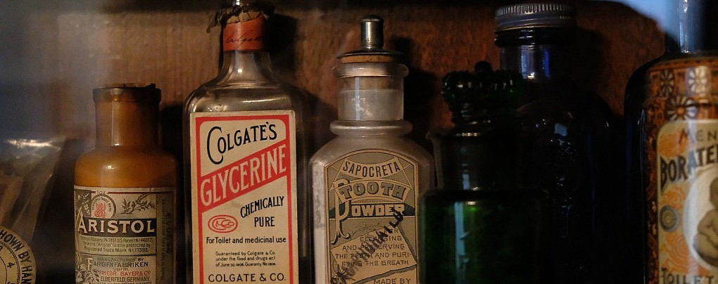 A Peek Inside the Frick Family Medicine Cabinet