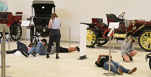 Cars and Cameras: Photography Students Capture the Car and Carriage Museum